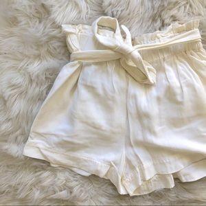 BCBG Flowy Shorts w/ Belt Tie
